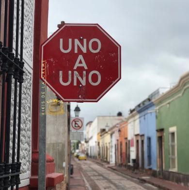 Queretaro Downtown Streetsigns Kikis de la Creme.jpg